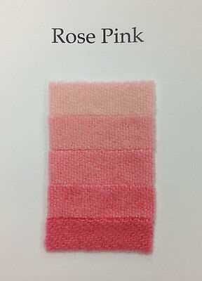 1/3 Oz Rose Pink Cushing Acid Dye Feathers Wool Alpaca Cashmere Non-bleeding Nieuwe Rassen Worden Na Elkaar GeïNtroduceerd