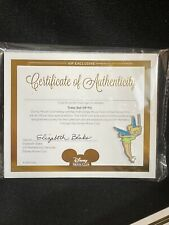 Disney Tinker Bell from Peter Pan VIP Movie Club Pin /& 4.5 X 5.5 COA Castle NEW