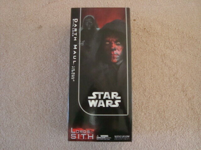NIB STAR WARS DARTH DARTH DARTH VADER SITH LORD 1 6 SCALE ORDER OF JEDI SIDESHOW EXCLUSIVE 690e01