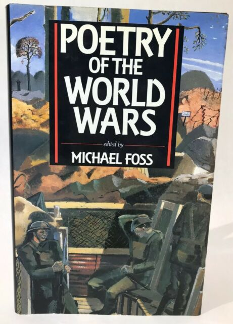 Poetry of the World Wars by Foss, Michael Book The Fast Free Shipping