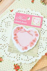 Cute Kawaii Flower Heart Sticky Notes memo pad label gift - Leeds, United Kingdom - Cute Kawaii Flower Heart Sticky Notes memo pad label gift - Leeds, United Kingdom