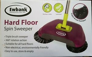 Ewbank Hard Floor Spin Sweeper Lightweight Manual Floor