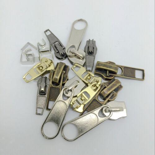 22 Stück Mixed Zipper Repair Kit Zip Slider Stop Replacement Fix Your Own