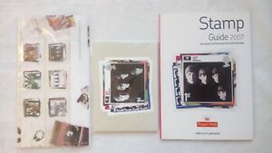 THE-BEATLES-ROYAL-MAIL-STAMPS-POSTCARDS-COLLECTION-SEALED-NEW-P-O-GUIDE-2007