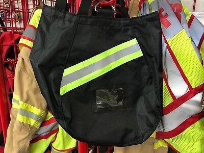 2019 Deluxe Black,Firefighter SCBA Mask Bag ISI EMT,Fire,Respirator