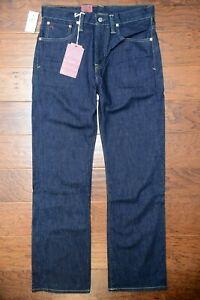 Polo Ralph Lauren Mens Vintage 67 Classic Fit Riverside Navy Denim Jeans W30 L30