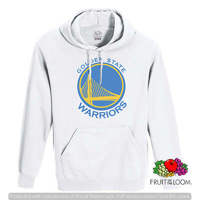 FELPA CON CAPPUCCIO E CON TASCA UNISEX FRUIT GOLDEN STATE WARRIORS F042