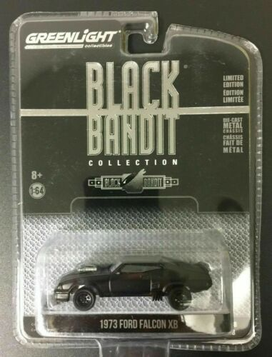 GREENLIGHT 1:64 Diecast Car XB FORD FALCON Black Bandit MAD MAX V8 Interceptor