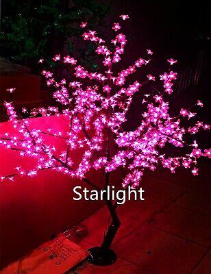 5ft LED Cherry Blossom Tree Light Home Wedding Garden Holiday Decor Pink Color