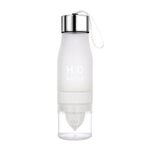 700ML Lemon Cup Bottle H2O Drink More Water Drinking Bike Bottle US STOCK