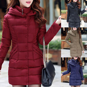 Womens-Quilted-Padded-Bubble-Hooded-Thick-Warm-Puffer-Coat-Jacket-Outwear-LB
