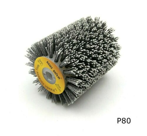 100*120*13mm Abrasives Wire Brush Wheel Sander P600 Wooden Furniture Polishing