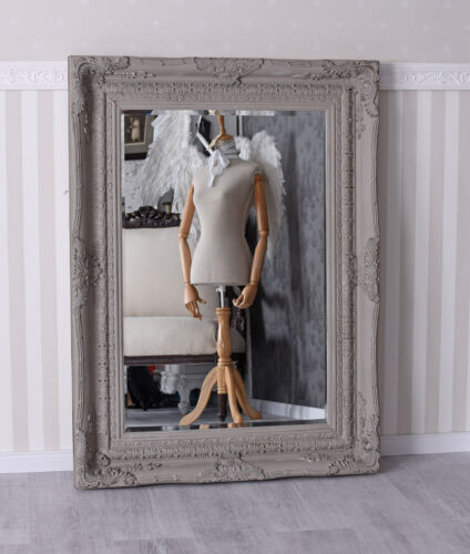 Spiegel Rokoko Wandspiegel Shabby Chic Prunk Barock Antik 120 x 90 XXL Hallen