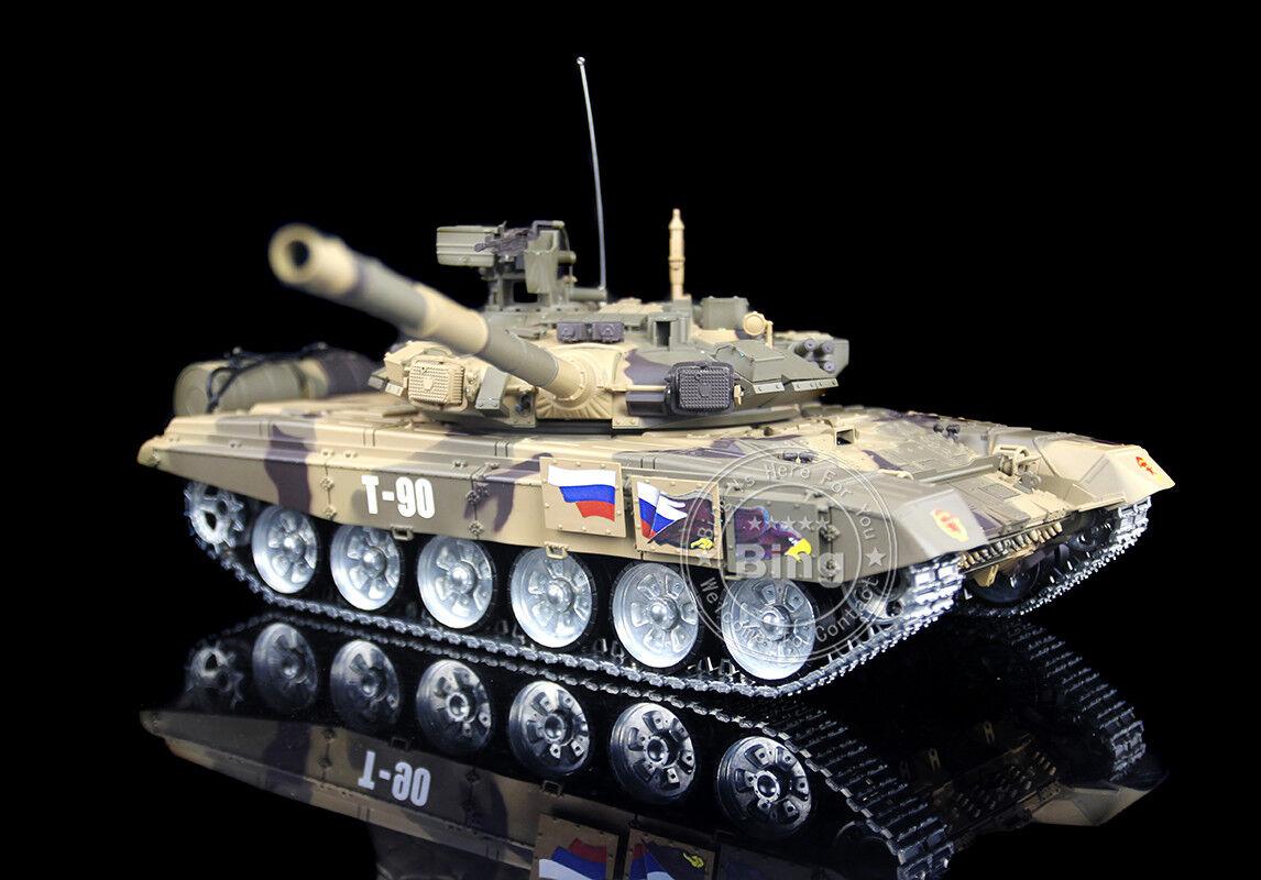 Henglong 1 16 Scale Upgraded Russian T90 RTR RC Tank Model Metal Road Wheel 3938