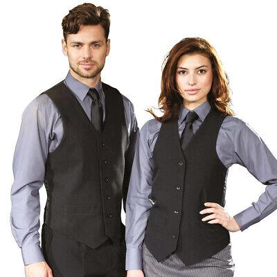 Willensstark Premier Pr622 Polyester Waistcoat Mens Contemporary 5 Button Business Waistcoat Eine GroßE Auswahl An Farben Und Designs