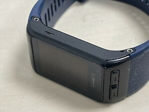 Garmin-GPS-Running-Watch-Blue-Strap-with-USB-charger