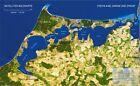 Landschaften aus dem Weltraum Fischland, Darss und Zingst Satellitenbildkarte 1:100.000 (2003, CD)