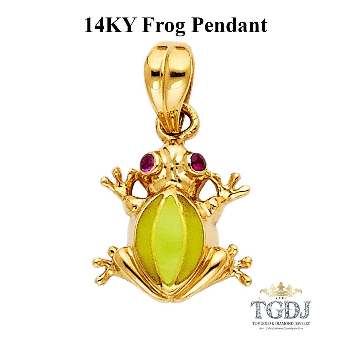 Frog Pendant, 14K Yellow gold  Frog Pendant
