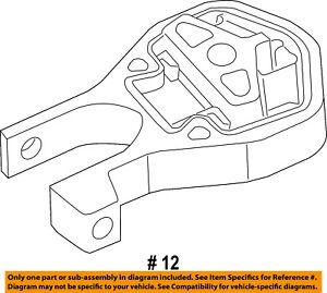 Ram CHRYSLER OEM 14-15 ProMaster 1500-Engine Motor Mount Torque Strut 68185879AA