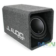 "NEW JL AUDIO HO112-W6v3 12"" 12W6v3 LOADED HIGH OUTPUT H.O. PORTED SUBWOOFER BOX"