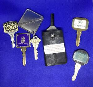 Hotel / Motel Key Lot Vintage Hyatt Union Square, Golden Nugget, Ritz Carlton!