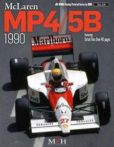 JOE HONDA Racing Pictorial Series by HIRO No.34 : McLaren MP4/5B 1990