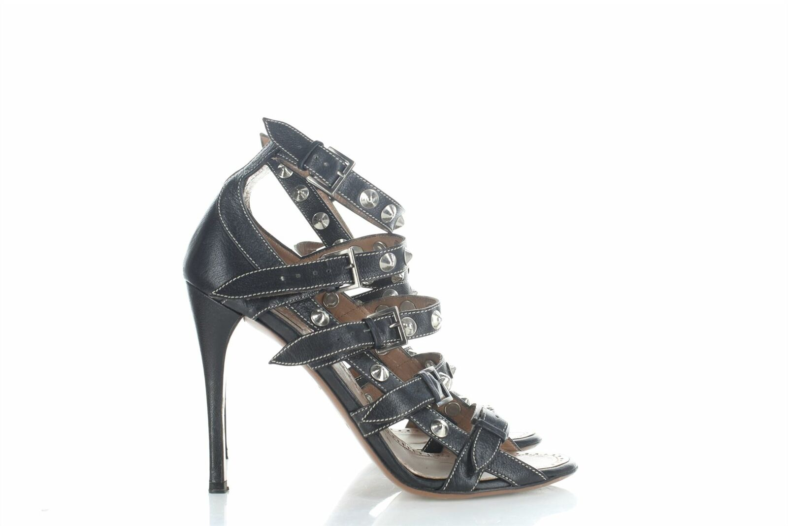ALAIA Talons en cuir black, UK 5.5 US 8.5 EU 38.5 Heel 4.5