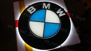 "New BMW German Auto Dealer Car Man Cave LED 3D Neon Sign 14/"""