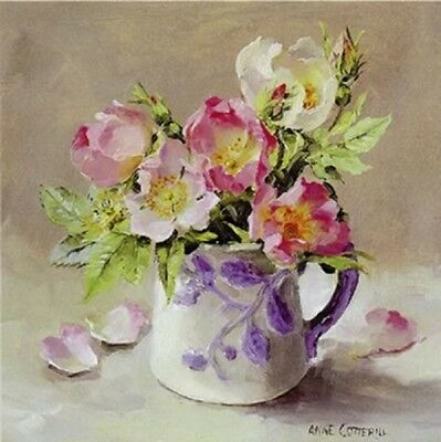 Anne Cotterill Fine Art Blank Greeting Birthday Card