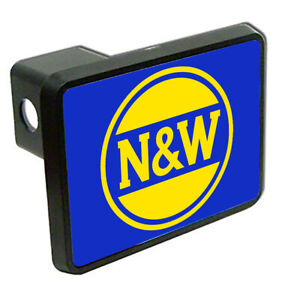 Norfolk Western Railway Logo Train Trailer Hitch Cover Ebay