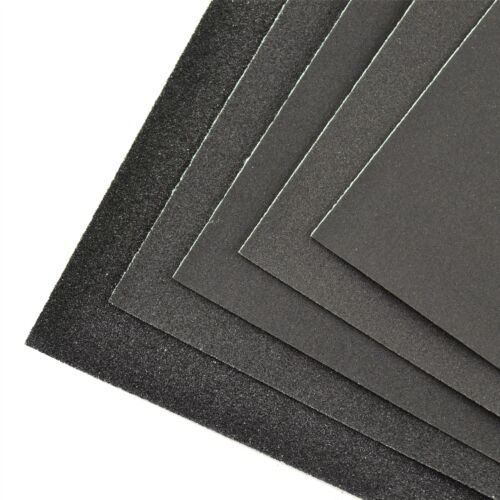Wet And Dry Sandpaper Sanding Sheets For Metal Plastic Wood 100pc Mixed Grit