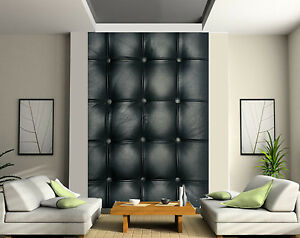 papier peint g ant 2 l s tapisserie murale d co capitonn. Black Bedroom Furniture Sets. Home Design Ideas