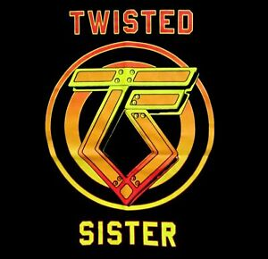TWISTED-SISTER-cd-lgo-CAN-039-T-STOP-ROCK-N-039-ROLL-Official-SHIRT-LRG-new