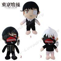 Anime Tokyo Ghoul Kaneki Ken 29cm-31cm Stuffed Plush Toy Doll Loose 3 Types