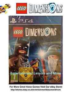 PlayStation-4-PS4-LEGO-Dimensions-Boxed-With-Manual-Disc-As-N-E-W-Condition