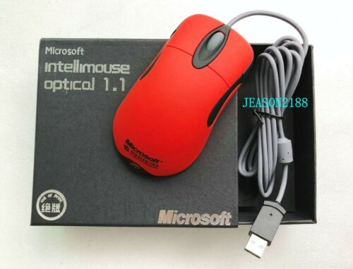 Microsoft l IntelliMouse Optical Io1.1//6000 frame IPS photoelectric mouse red