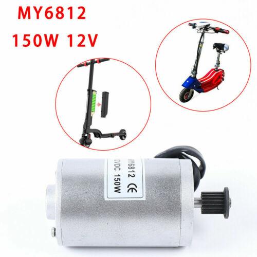 150 Watt 12V Bürstenmotor 2750 U min 0.52 Nm Für Elektroroller E-Scooter DHL
