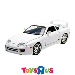 Jada Fast & Furious 1:24 Brian's White Toyota Supra