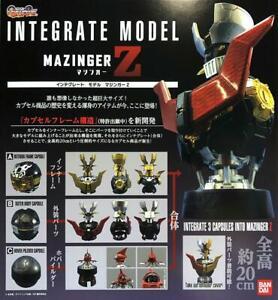 MAZINGER Z HEAD BUST INTEGRATE MODEL CAPSULE Bandai PB SET OF 3PCS Q2 2020 Last