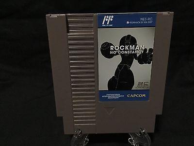 Rockman No Constancy Nintendo NES Game