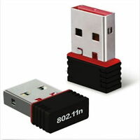 Mini 150M USB WiFi Wireless LAN 802.11 n/g/b Adapter Nano Network 150Mbps Red FE