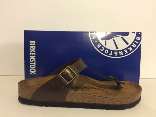 1bfd0d175022a Birkenstock Gizeh Birko-flor Graceful Toffee 0845221 Regular Fit 38