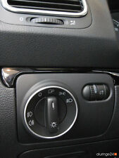 VW Golf 4 IV 1J 5 V 1K 6 VI 5K Aluring Alu Lichtschalter R-LINE GTI GTD CABRIO