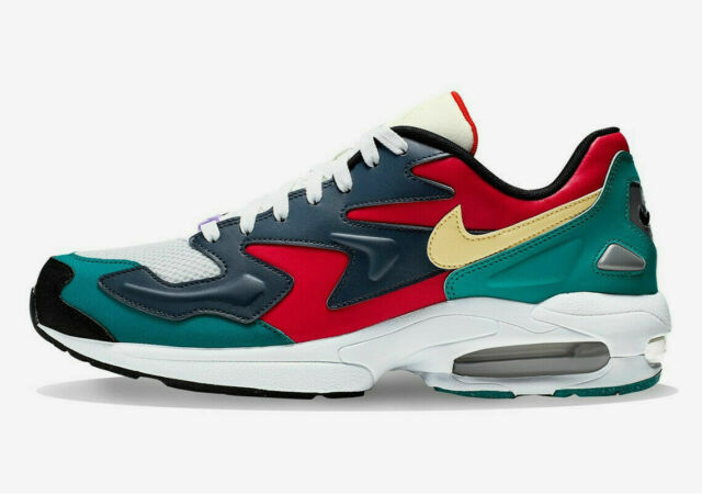 Nike Air Max2 Light SP Habanero RedArmory Navy [BV1359 600] Size 10US