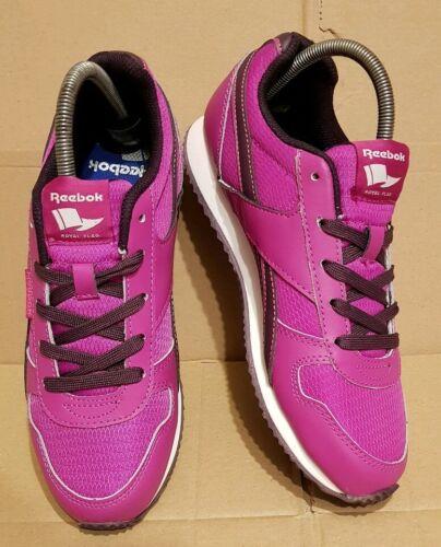 5 Purple 5 Impresionante Reebok Tamaño Black estilo Classic Trainers Nuevo Uk Leather 7080I