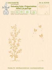 Leane Creatief Embossing Folder GARDEN SCENE - 14.4cm x 16cm 35.0195 *