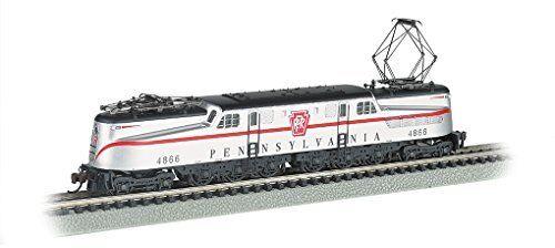 Bachmann 65254 N Scale GG1 DCC Ready Electric PRR  4866 Congressional Locomotive