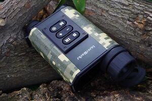 Infrared Night Vision IR Monocular Scope Laser Rangefinder Hunting Binoculars