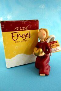 wunderschoene-Figur-Gilde-Engel-mit-Herz-14-cm-Neu-OVP-Sammlerstueck-Schutzengel