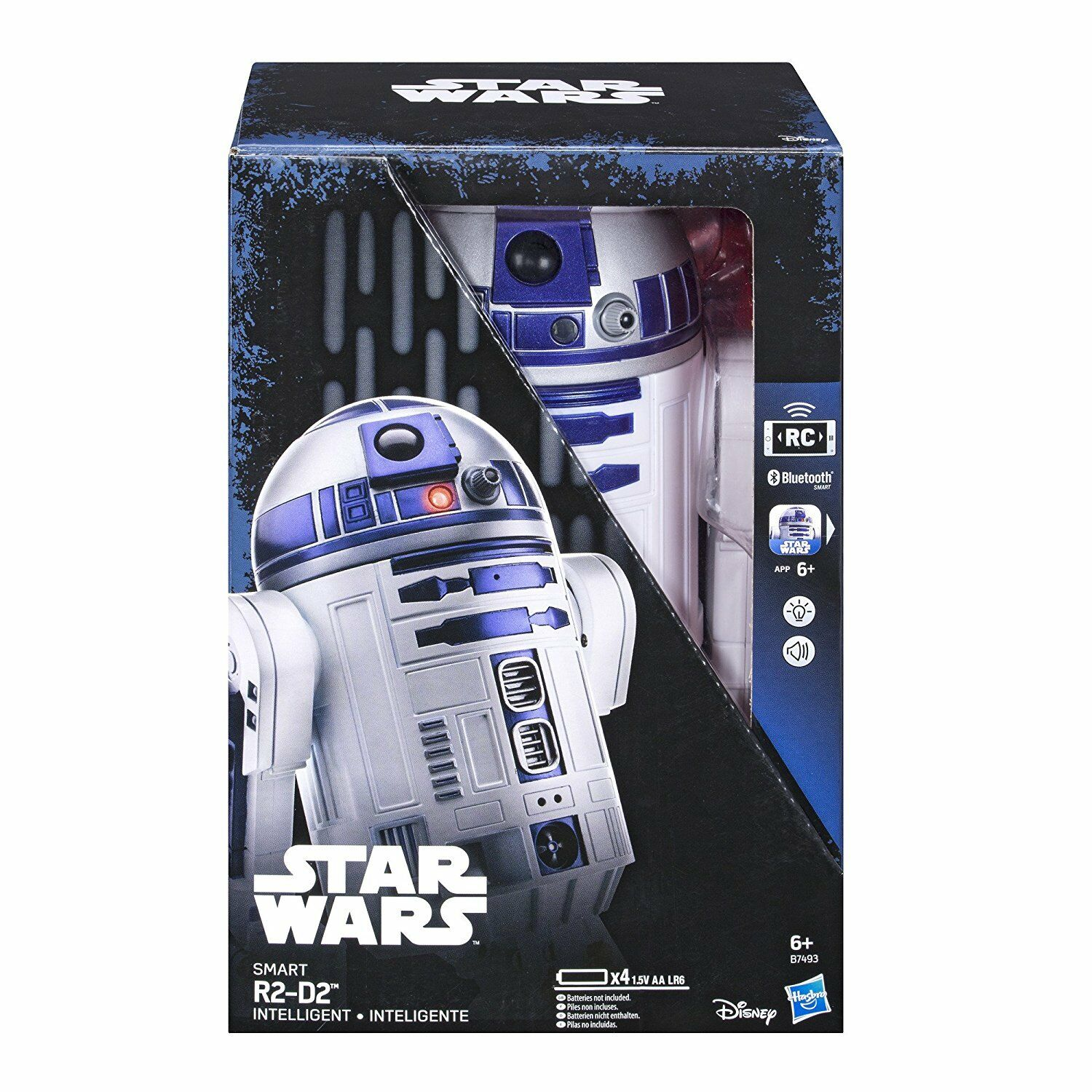 NEW Star Wars Smart App Enabled R2-D2 Remote Control Robot RC Interactive Droid